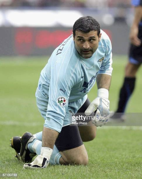 Angelo Peruzzi of Lazio looks dejected during the Serie A match between Inter Milan and Lazio at the Stadio Giuseppe Meazza San Siro on MArch 19 2006...