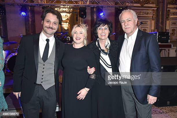 Angelo Pisani Katia Follesa Giovanna Riccipetitoni and Vincenzo Tomaselli attend the Charity Dancing Party For Haiti hosted by Fondazione Francesca...