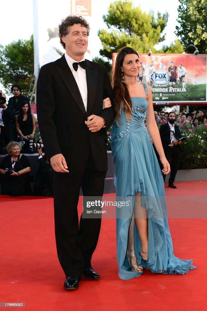 Angelo Quarti and Annalisa Flori attend the Closing Ceremony during the 70th Venice International Film Festival at the Palazzo del Cinema on September 7, 2013 in Venice, Italy.
