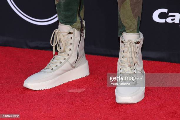 Angelo Russell shoe detail attends The 2017 ESPYS at Microsoft Theater on July 12 2017 in Los Angeles California
