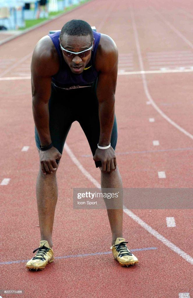 Angelo TAYLOR - 400m - - Meeting International Sotteville les Rouen - 2eme etape de lÆAlma Athle Tour,