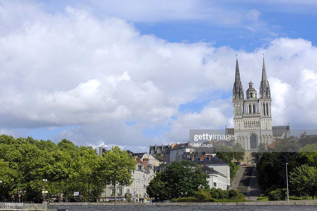 Angers Maine Et Loire Pays De La Loire France Stock Photo   Getty ...
