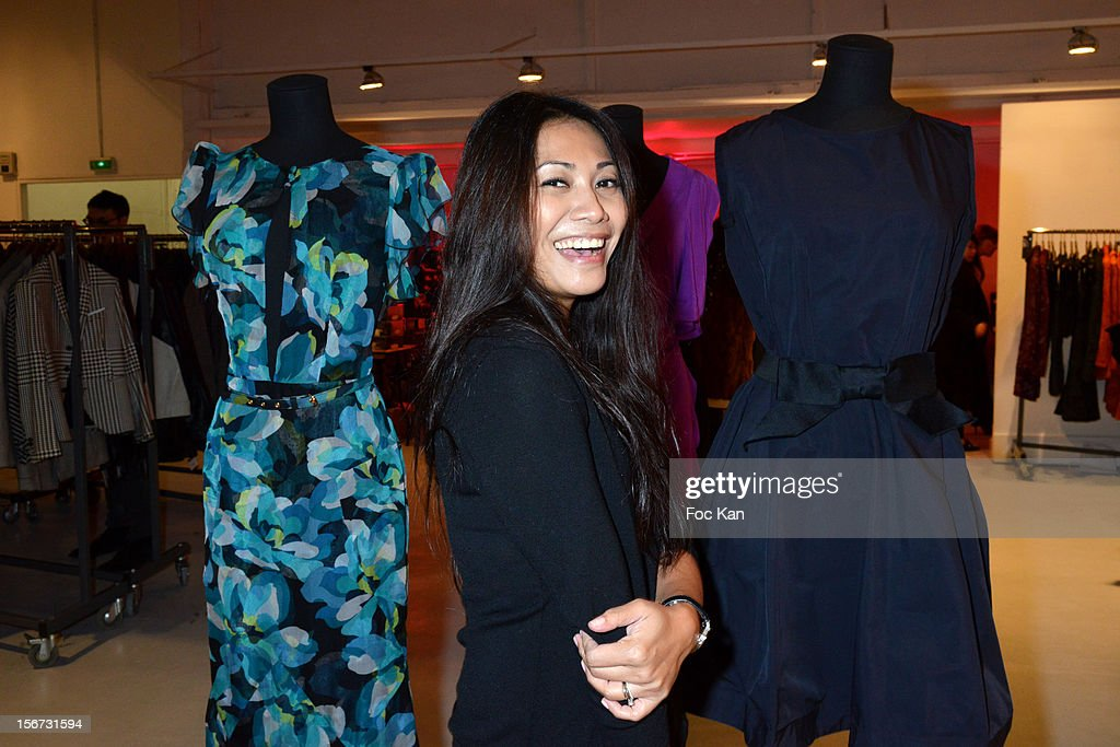 <a gi-track='captionPersonalityLinkClicked' href=/galleries/search?phrase=Anggun&family=editorial&specificpeople=772820 ng-click='$event.stopPropagation()'>Anggun</a> attends 'La Braderie de L'Eclaireur 2012' in Benefit of Rose Association Against Cancer at Galerie Diana Marquardt on November 19, 2012 in Paris, France.