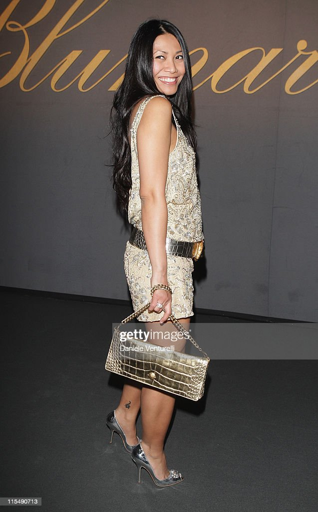 <a gi-track='captionPersonalityLinkClicked' href=/galleries/search?phrase=Anggun&family=editorial&specificpeople=772820 ng-click='$event.stopPropagation()'>Anggun</a> attends the Blumarine show as part of Milan Fashion Week Autumn/Winter 2008/09 on February 19, 2008 in Milan, Italy.