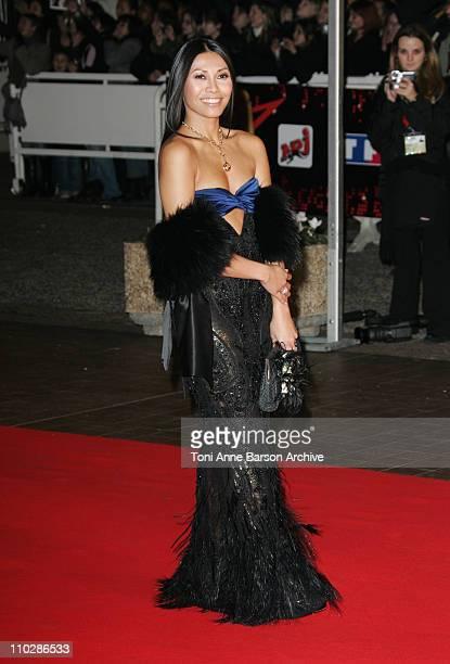 Anggun during 2006 NRJ Music Awards Arrivals at Palais des Festivals in Cannes France
