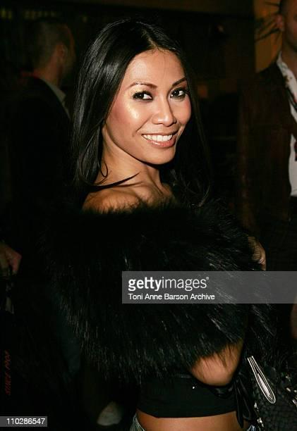 Anggun during 2006 NRJ Music Awards at Midem After Show Departures at Palais des Festivals in Cannes France