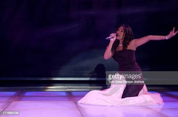 Anggun during Bal de L'Ete 2002 Anggun Performing at MonteCarlo Sporting Club in MonteCarlo Monaco