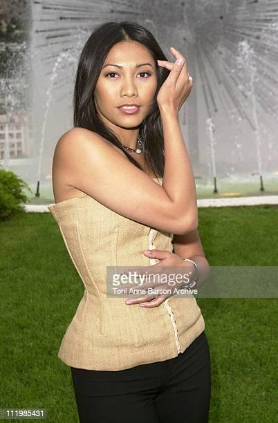 Anggun during Bal de L'Ete 2002 Photo Call at MonteCarlo Sporting Club in MonteCarlo Monaco