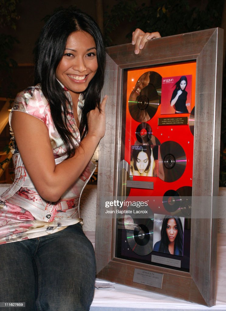 <a gi-track='captionPersonalityLinkClicked' href=/galleries/search?phrase=Anggun&family=editorial&specificpeople=772820 ng-click='$event.stopPropagation()'>Anggun</a> during MIDEM 2003 - 10 Years of Export at Palais des festivals in Cannes, France.