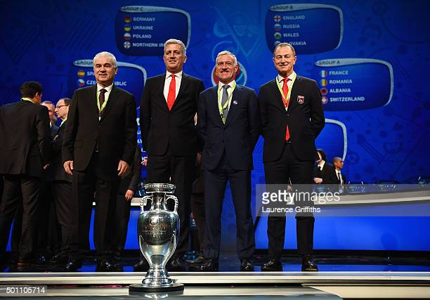 Anghel Iordanescu Manager of Romania Vladimir Petkovic Manager of Switzerland Didier Deschamps Manager of France Gianni De Biasi Manager of Albania...