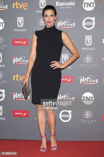Angie Cepeda attends the 2017 Platino Awards Welcome Party at Callao Cinema on July 20 2017 in Madrid Spain