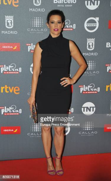 Angie Cepeda attends the Platino Awards 2017 welcome Party on July 20 2017 in Madrid Spain