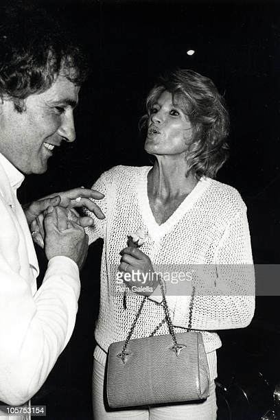 Angie Dickinson and Guest during Jacqueline Bisset's Birthday Party September 13 1979 at Flippers Roller Disco in Los Angeles California United States