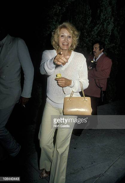 Angie Dickinson during Jacqueline Bisset's Birthday Party September 13 1979 at Flippers Roller Disco in Los Angeles California United States