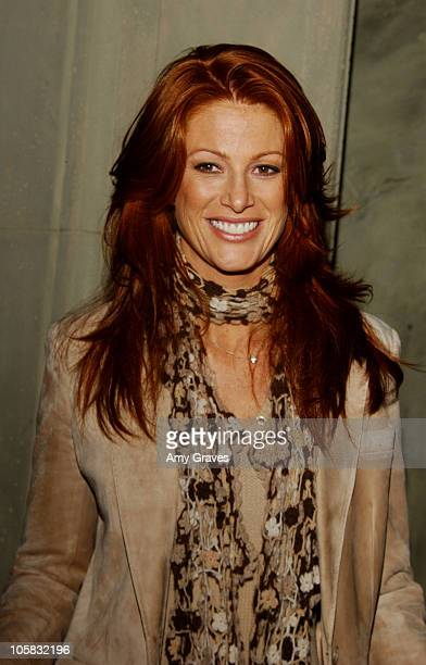 Angie Everhart during Hallmark Channel Hosts ' A Taste of Hollywood' at Spago Beverly Hills in Beverly Hills California United States