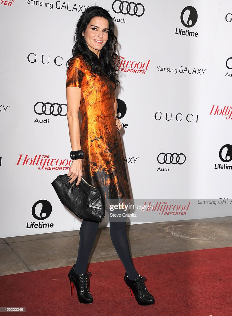 <a gi-track='captionPersonalityLinkClicked' href=/galleries/search?phrase=Angie+Harmon&family=editorial&specificpeople=204576 ng-click='$event.stopPropagation()'>Angie Harmon</a> arrives at the The Hollywood Reporter's Women In Entertainment Breakfast Honoring Oprah Winfrey at Beverly Hills Hotel on December 11, 2013 in Beverly Hills, California.