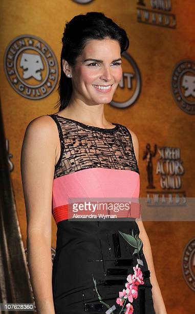Angie Harmon at The 17th Annual Screen Actors Guild Awards Nominations Announcement held at The Pacific Design Center on December 16 2010 in West...
