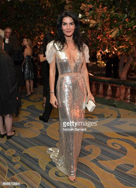Angie Harmon at the Whole Child International's Inaugural Gala in Los Angeles hosted by The Earl and Countess Spencer at Regent Beverly Wilshire...