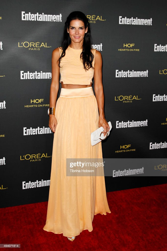 Angie Harmon attends Entertainment Weekly's Pre-Emmy party at Fig & Olive Melrose Place on August 23, 2014 in West Hollywood, California.