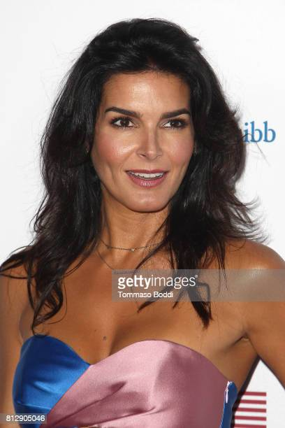 Angie Harmon attends the 3rd Annual Sports Humanitarian Of The Year Awards at The Novo by Microsoft on July 11 2017 in Los Angeles California
