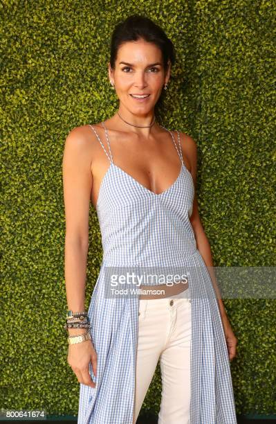 Angie Harmon attends the Premiere Of Universal Pictures And Illumination Entertainment's 'Despicable Me 3' at The Shrine Auditorium on June 24 2017...