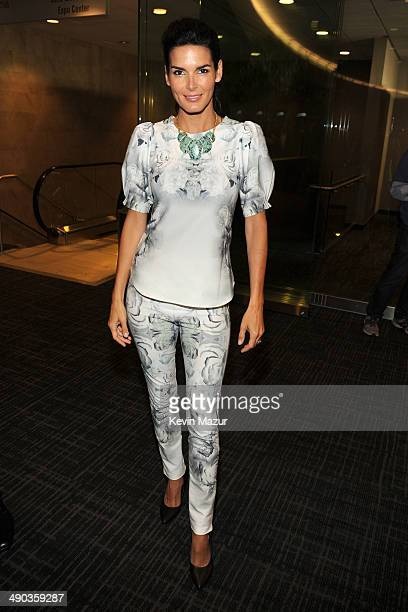 Angie Harmon attends the TBS / TNT Upfront 2014 at The Theater at Madison Square Garden on May 14 2014 in New York City 24674_001_0712JPG