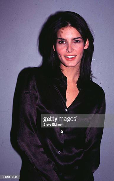 Angie Harmon during Angie Harmon at Palladium 1995 at Palladium in New York City New York United States