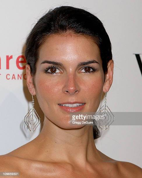 Angie Harmon during Carolina Herrera Los Angeles Boutique Opening Arrivals at Carolina Herrera in Los Angeles California United States