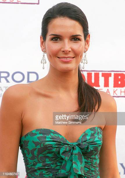 Angie Harmon during Eighth Annual Hollyrod DesignCure July 22 2006 at Private Residence in Beverly Hills California United States