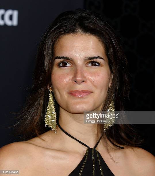 Angie Harmon during Rodeo Drive Walk of Style Event Honoring Tom Ford Arrivals at Rodeo Drive in Beverly Hills California United States