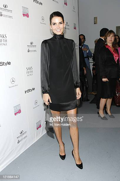 Angie Harmon during Saks Fifth Avenue and InStyle Magazine Host an Exclusive Launch Event for 'Key to the Cure' in Partnership with Mercedes BenzUSA...