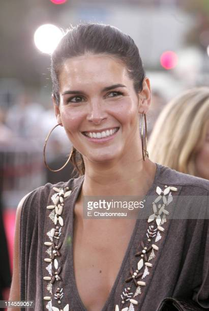 Angie Harmon during Universal Pictures Presents the World Premiere of 'Miami Vice' at Mann Village Theater in Westwood California United States