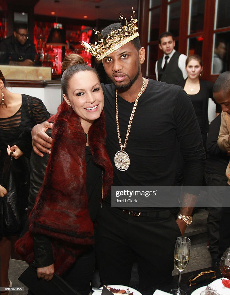 <a gi-track='captionPersonalityLinkClicked' href=/galleries/search?phrase=Angie+Martinez&family=editorial&specificpeople=664057 ng-click='$event.stopPropagation()'>Angie Martinez</a> and <a gi-track='captionPersonalityLinkClicked' href=/galleries/search?phrase=Fabolous&family=editorial&specificpeople=215255 ng-click='$event.stopPropagation()'>Fabolous</a> attend <a gi-track='captionPersonalityLinkClicked' href=/galleries/search?phrase=Fabolous&family=editorial&specificpeople=215255 ng-click='$event.stopPropagation()'>Fabolous</a>' Private Birthday Dinner at RSVP on November 18, 2012 in New York City.