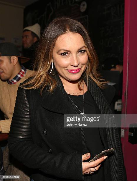 Angie Martinez attends Cipha Sounds' Take It Personal The Hip Hop Improv Show at UCB East on March 6 2015 in New York City