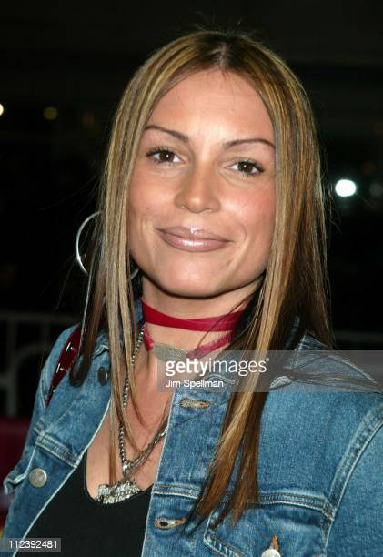 Angie Martinez during 'Brown Sugar' New York Premiere at The Ziegfeld Theater in New York City New York United States
