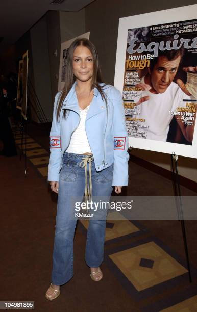 Angie Martinez during Esquire to Honor 'The Heavies' of the Music Industry at W Hotel Union Square in New York City New York United States