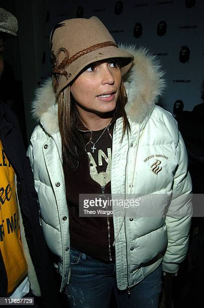 Angie Martinez during Pharrell Williams Hosts Store Opening of Nigo's A Bathing Ape After Party Arrivals at Canal Room in New York City New York...