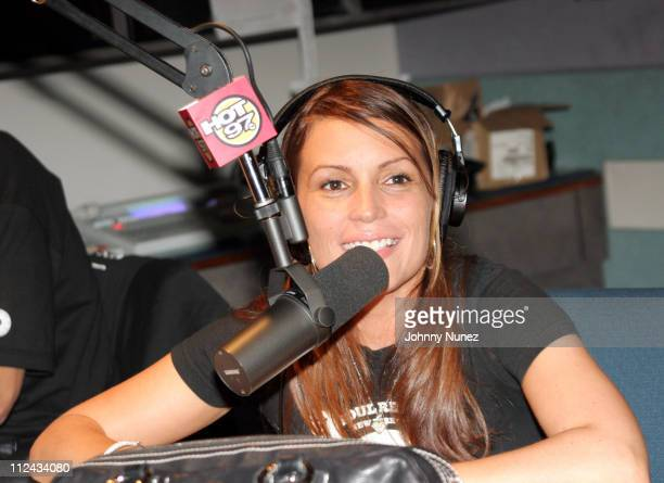 Angie Martinez during Sizzla at Hot 971 FM July 19 2005 at Hot 971 FM in New York City New York United States