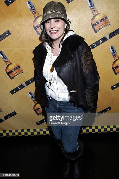 Angie Martinez of Hot 97 during Moet Hennessy USA and Navan Sponsor 'More Yellow Cabs' Launch Party January 27 2006 at PM Lounge in New York City New...
