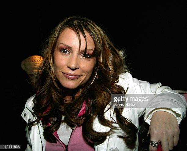 Angie Martinez of WQHT during DJ Enuff's Birthday Party at Black in New York City New York United States