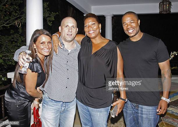 Angie Martinez Steve Rifkind Queen Latifah and Xzibit attend Steve Rifkind and SRC's Post BET Awards Party In Honor of Steven Hill on June 24 2008 in...