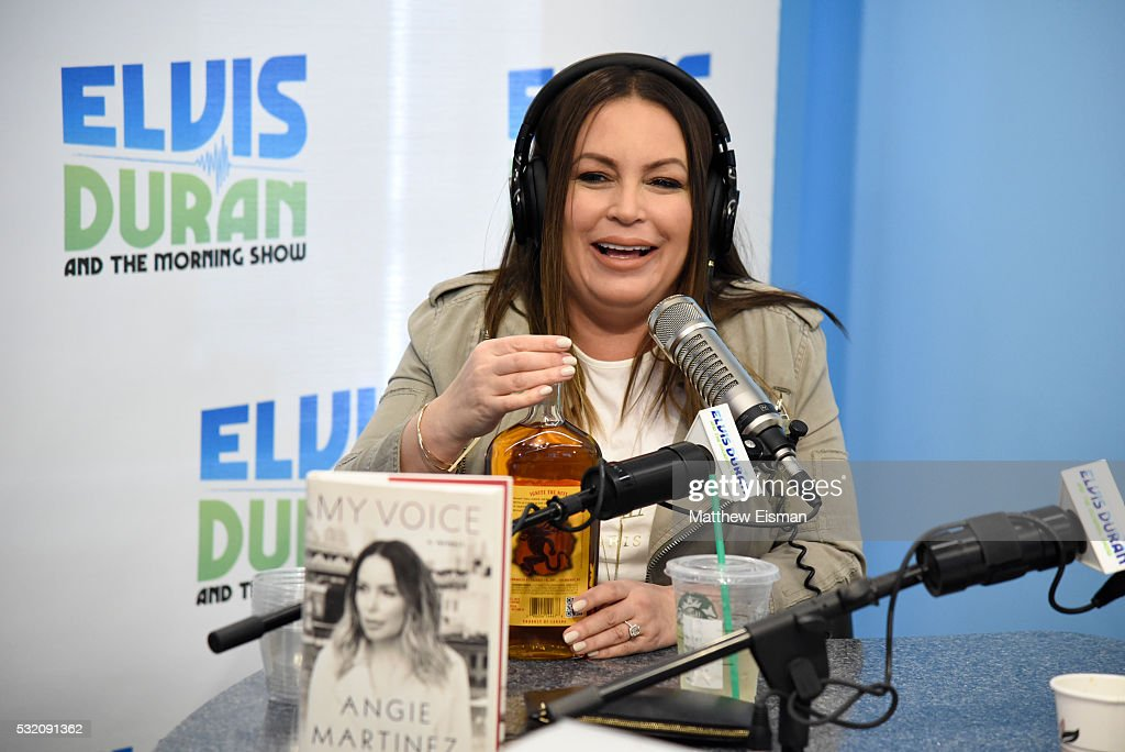 "Angie Martinez Visits ""The Elvis Duran Z100 Morning Show ..."