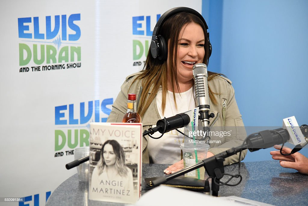 Angie Martinez visits 'The Elvis Duran Z100 Morning Show' at Z100 ...