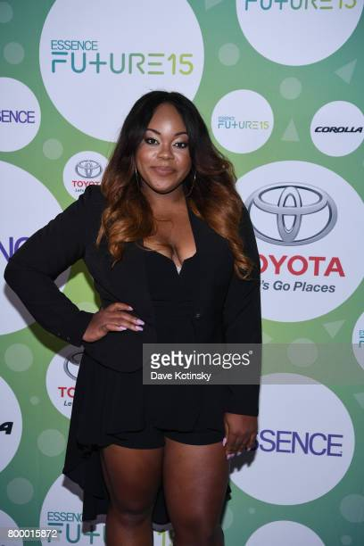 Angie Nwandu attends the Essence Toyota Future 15 Event at Root NYC on June 22 2017 in New York City