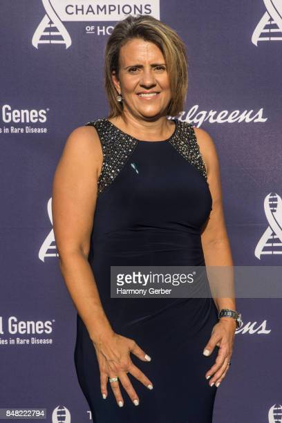Angie Rowe attends the Global Genes' 6th Annual Tribute To Champions Of Hope Awards at City National Grove of Anaheim on September 16 2017 in Anaheim...