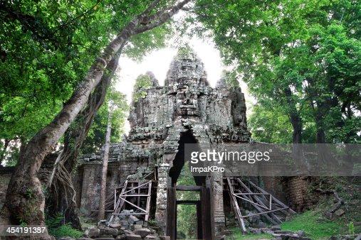 Angkor Thom : Foto de stock