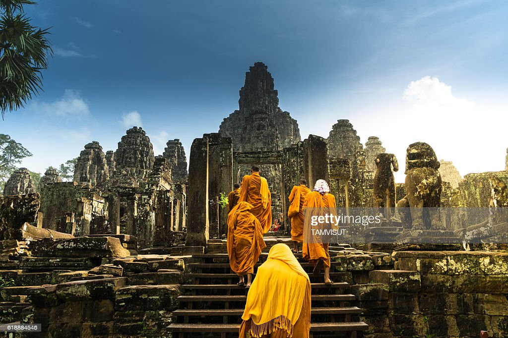 Angkor Wat ambodia : Stock Photo