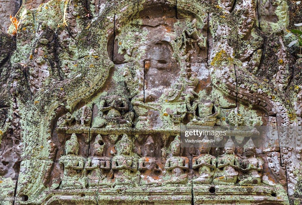 Templo de Angkor Wat, Camboja complexo, na Ásia. Siem Reap, Camboja. : Foto de stock