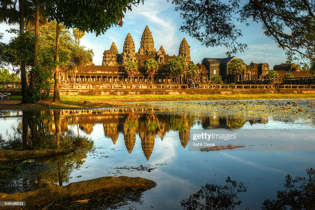Angkor Wat : Stock Photo