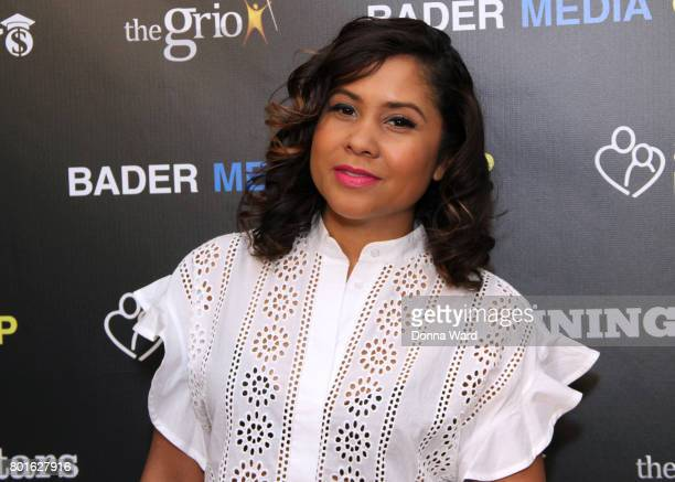 Anglea Yee attends the Winning Play$ Black Women Feminism Empowerment panel at The Paley Center for Media on June 26 2017 in New York City